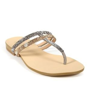 Women's Catherine-Malandrino-Metallic-Sandals